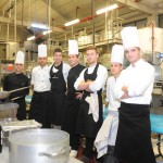 lo staff in cucina